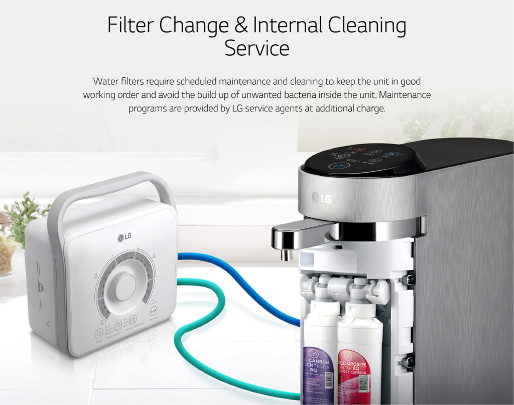 home water filter change service