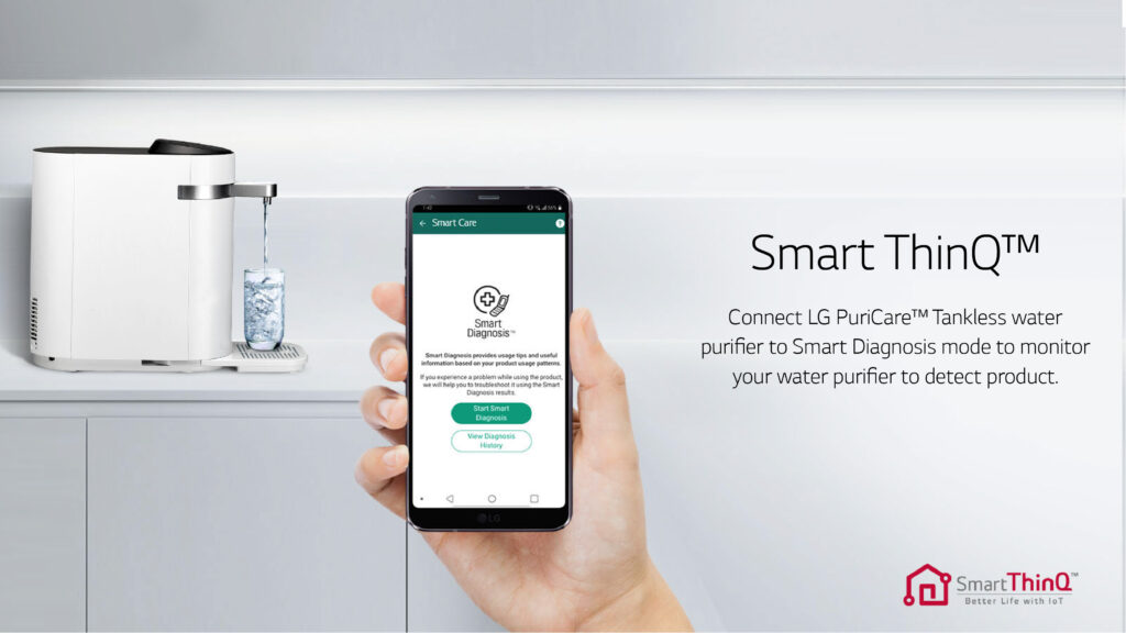 Connect Water Purifier With Mobile App