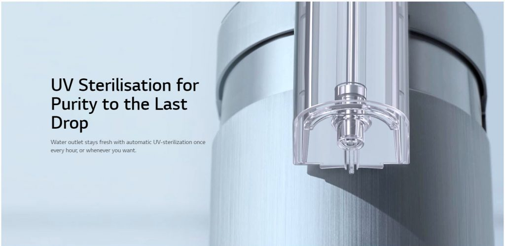 how effective is uv sterilization in water filter