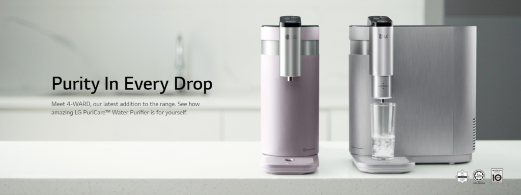 lg water purifier new promotion