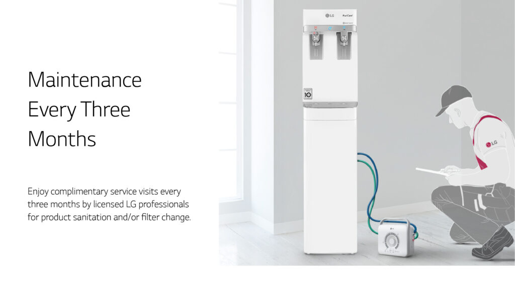 water dispenser service for office every 3 months