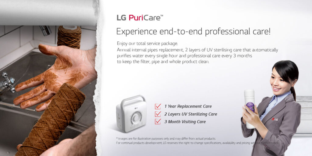 lg puricare water purifier service Convenient for family