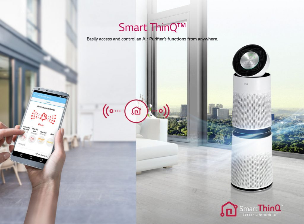 Connect Your Mobile App To Control Air Purifier