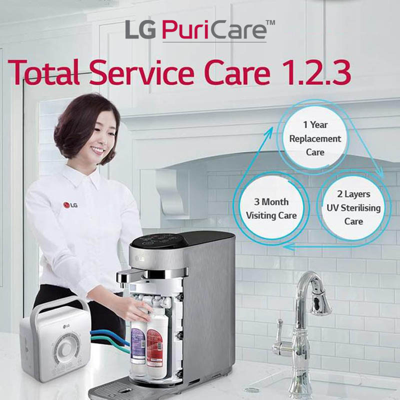 LG Water Purifier Schedule Service every 3 months