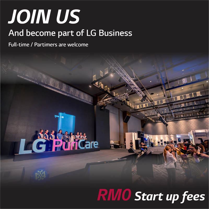 Join us Become Part Of LG Business full time and part time are welcome