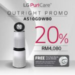 Lg air purifier review-AS10GDWB0