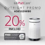 lg puricare air purifier price -AS65GDWB0