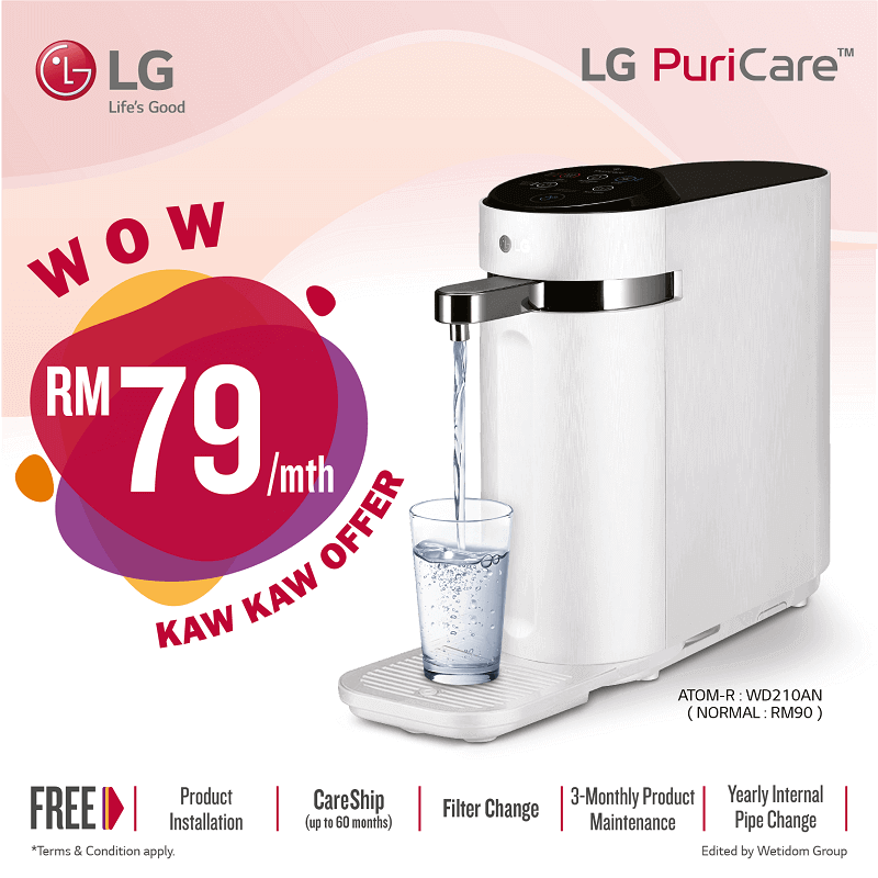lg water purifier promotion,lg puricare water purifier price, lg water filter, lg water purifier price malaysia