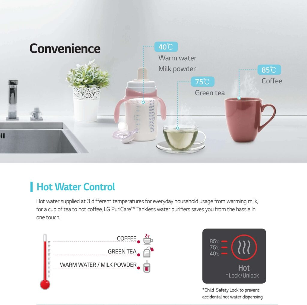 lg hot and cold water purifier, lg water purifier hot & cold, lg water purifier review, lg water purifier price